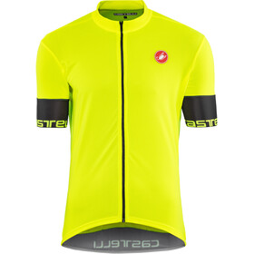 Castelli Inizio Maillot manches courtes Homme, yellow fluo